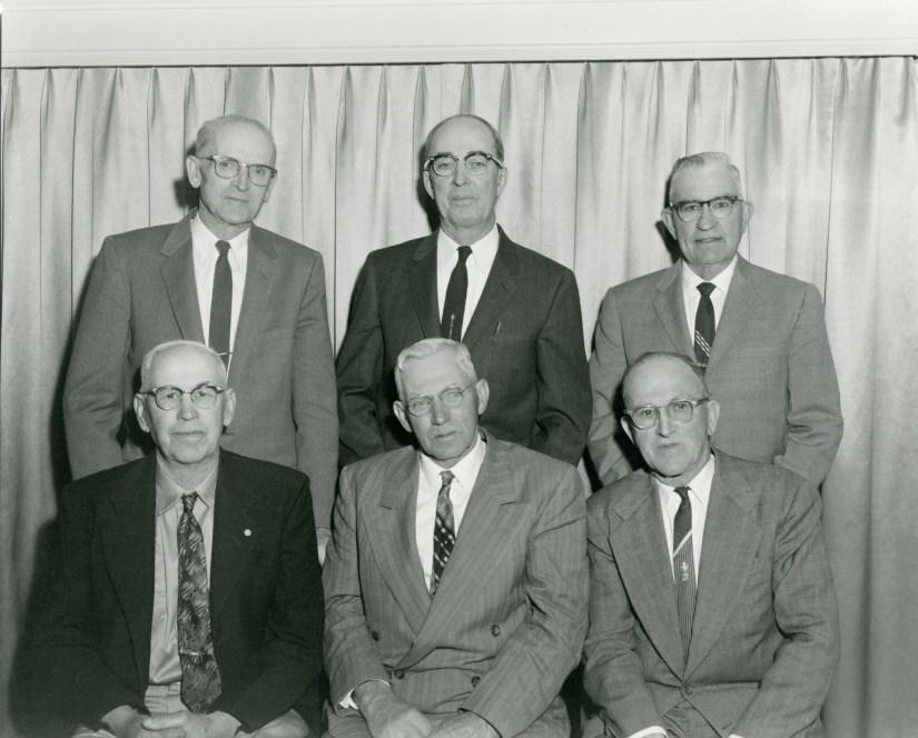 ELLIS, Claude Albert, back left