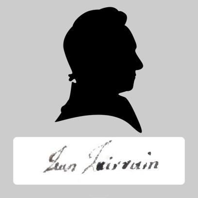 Jean Jairrain signature silhouette
