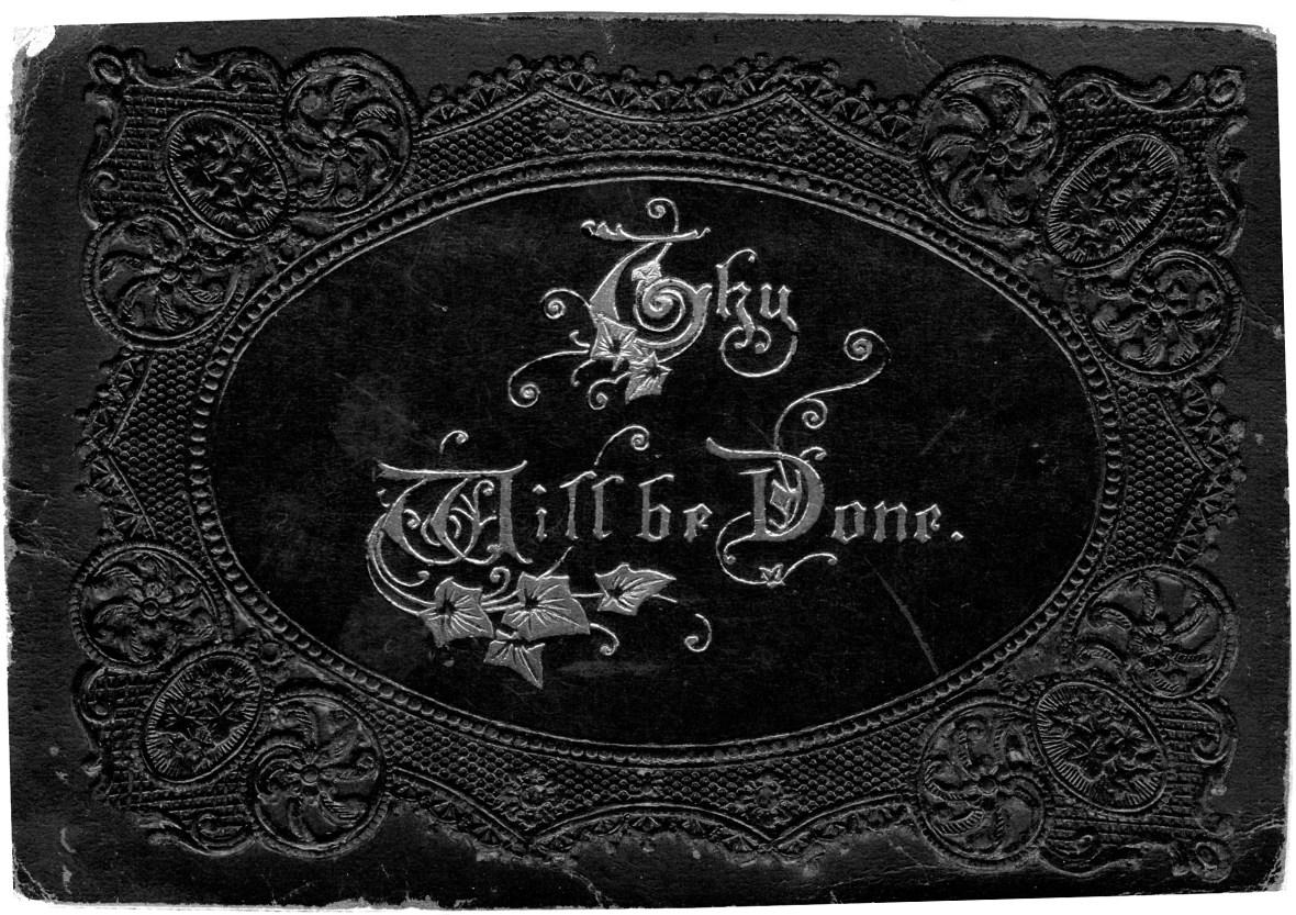 Isabella Mclaren b 1818 Death Notice Front