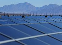 The Desert Sunshine Solar Farm produces 550MW of power from 900 hectares of solar panels
