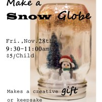 Make a Snow Globe