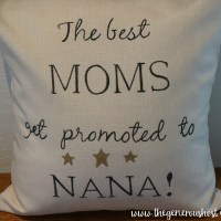 The Best Moms Get Promoted Pillow Cover