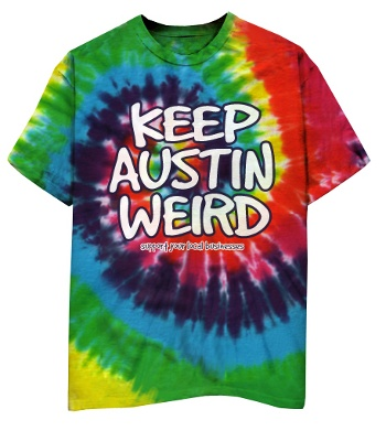 Keep Austin Weird t-shirt outhousedesigns.com