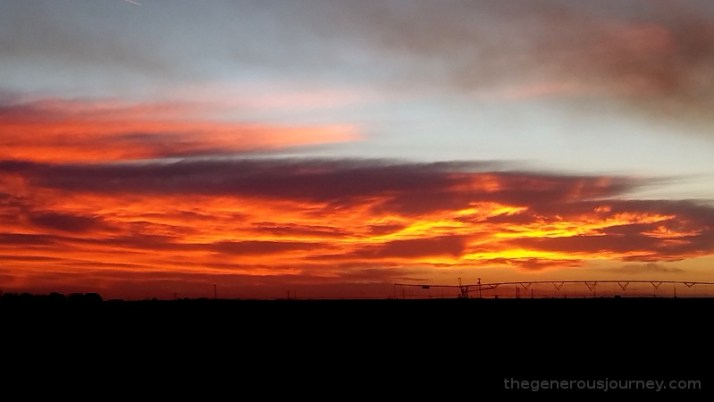 Central Texas sunset Image Credit: © Paul H. Byerly