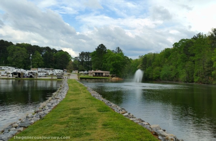 Twin Lakes RV Park  © Paul H. Byerly