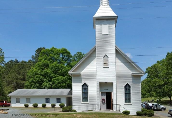 Nice church building  © Paul H. Byerly