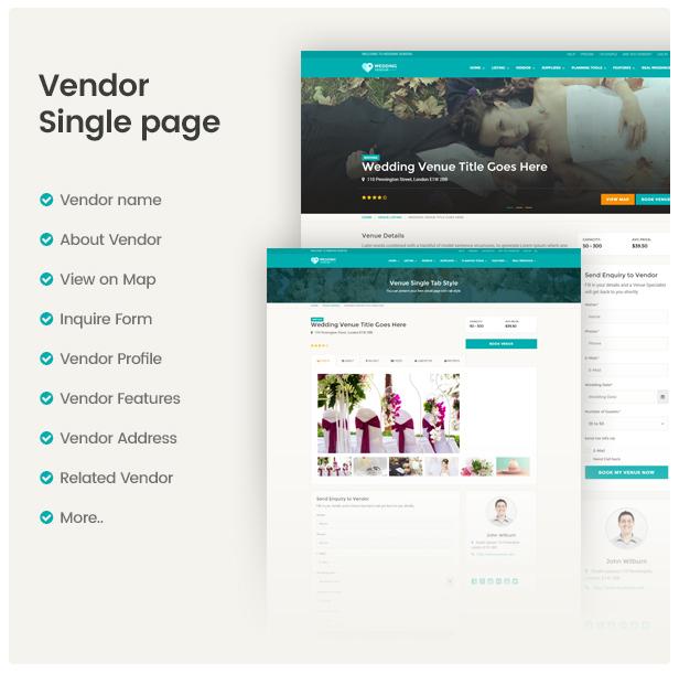 Directory Vendor Single