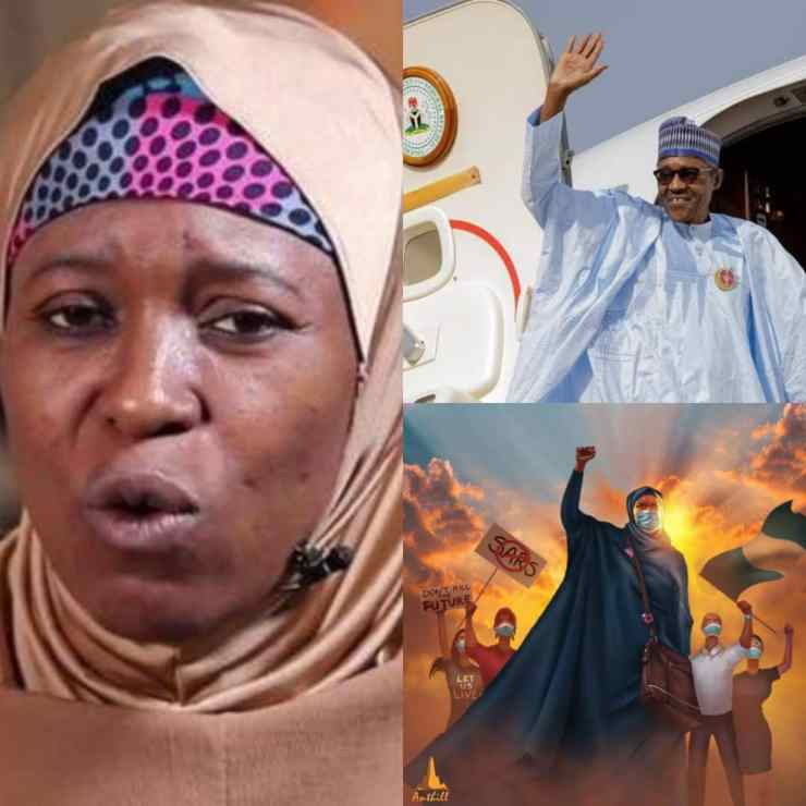 BREAKING: Aisha Criticises President Buhari Over Foreign Medical Trip