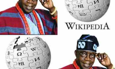 EXPOSED!!! Reason Why Wikipedia Blocked Bola Tinubu's Profile After 84 Attempt