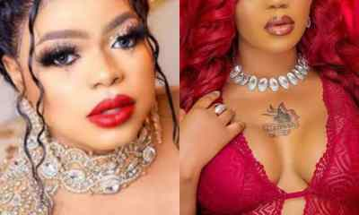 See What Bobrisky Did As Toyin Lawani Lost Her Father