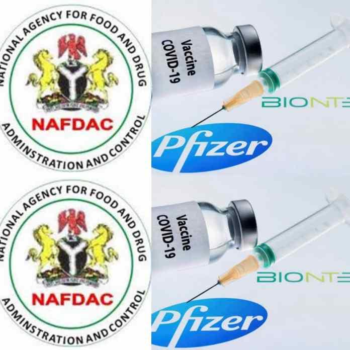 BREAKING: NAFDAC Certifies Pfizer-BionTech COVID-19 Vaccine For Use In Nigeria
