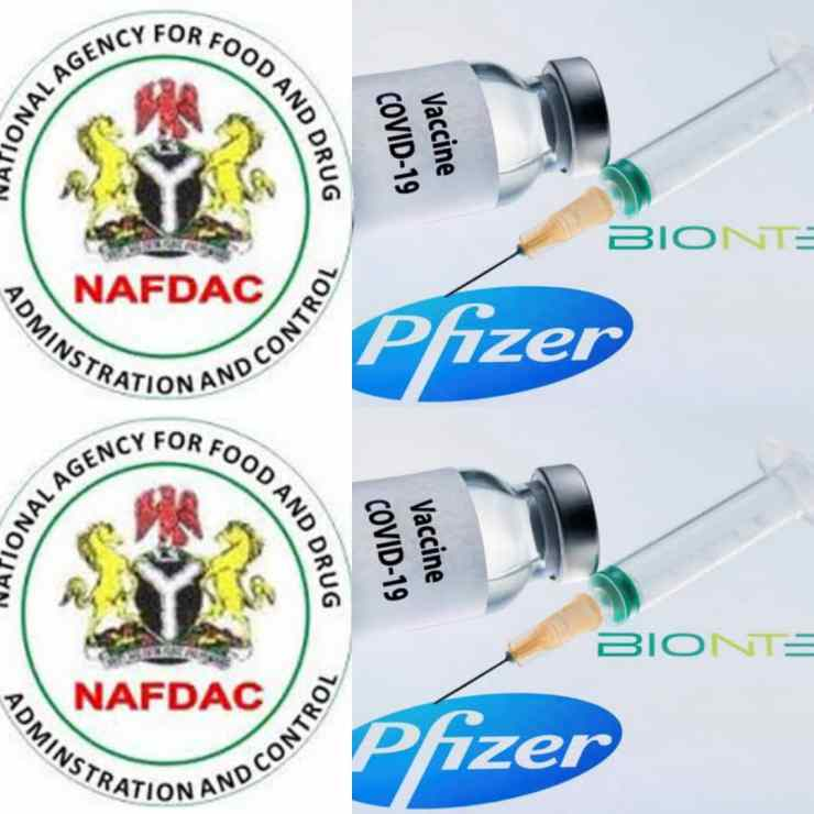 BREAKING: NAFDAC Certifies Pfizer-BionTech COVID-19 Vaccine For Use In Nigeria