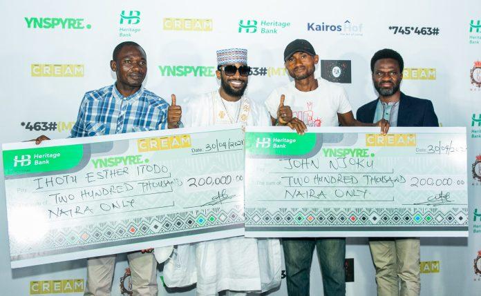 Heritage Bank's YNSPYRE And CREAM Platform April Draw Produce Millionaires
