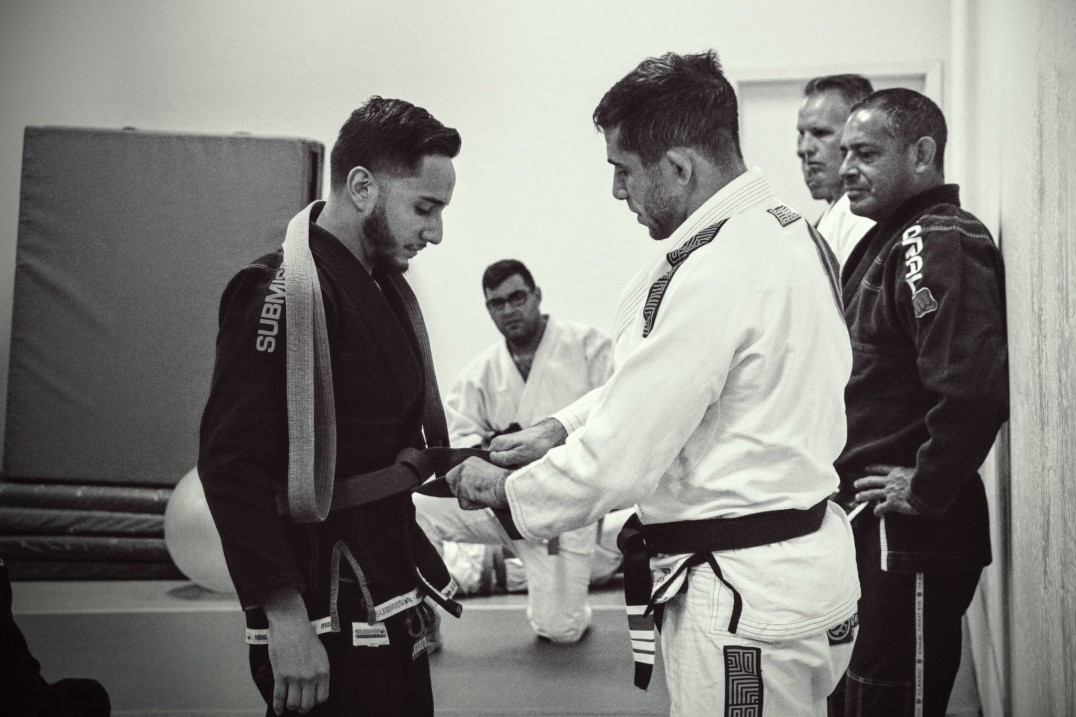brown belt in jiu-jitsu