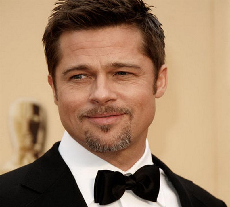 Barba volto squadrato - Brad Pitt