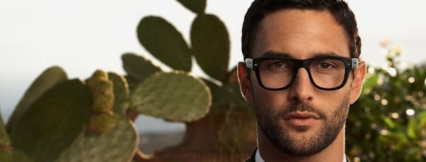 Occhiali da vista montatura squadrata - Dolce & Gabbana