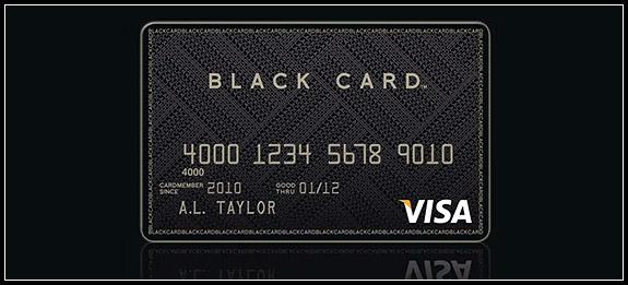 Carta di credito nera: il lusso delle Black Card più esclusive al mondo