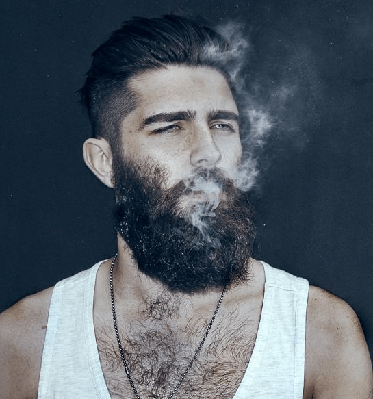 barba da hipster vero