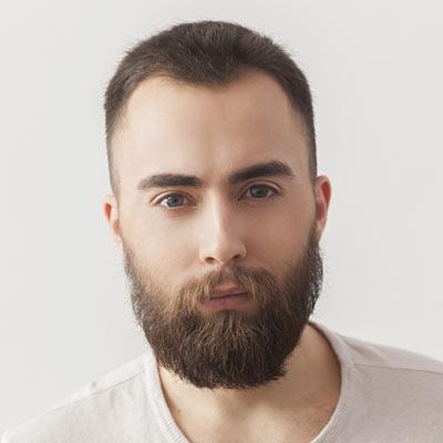 foto barba hipster corta