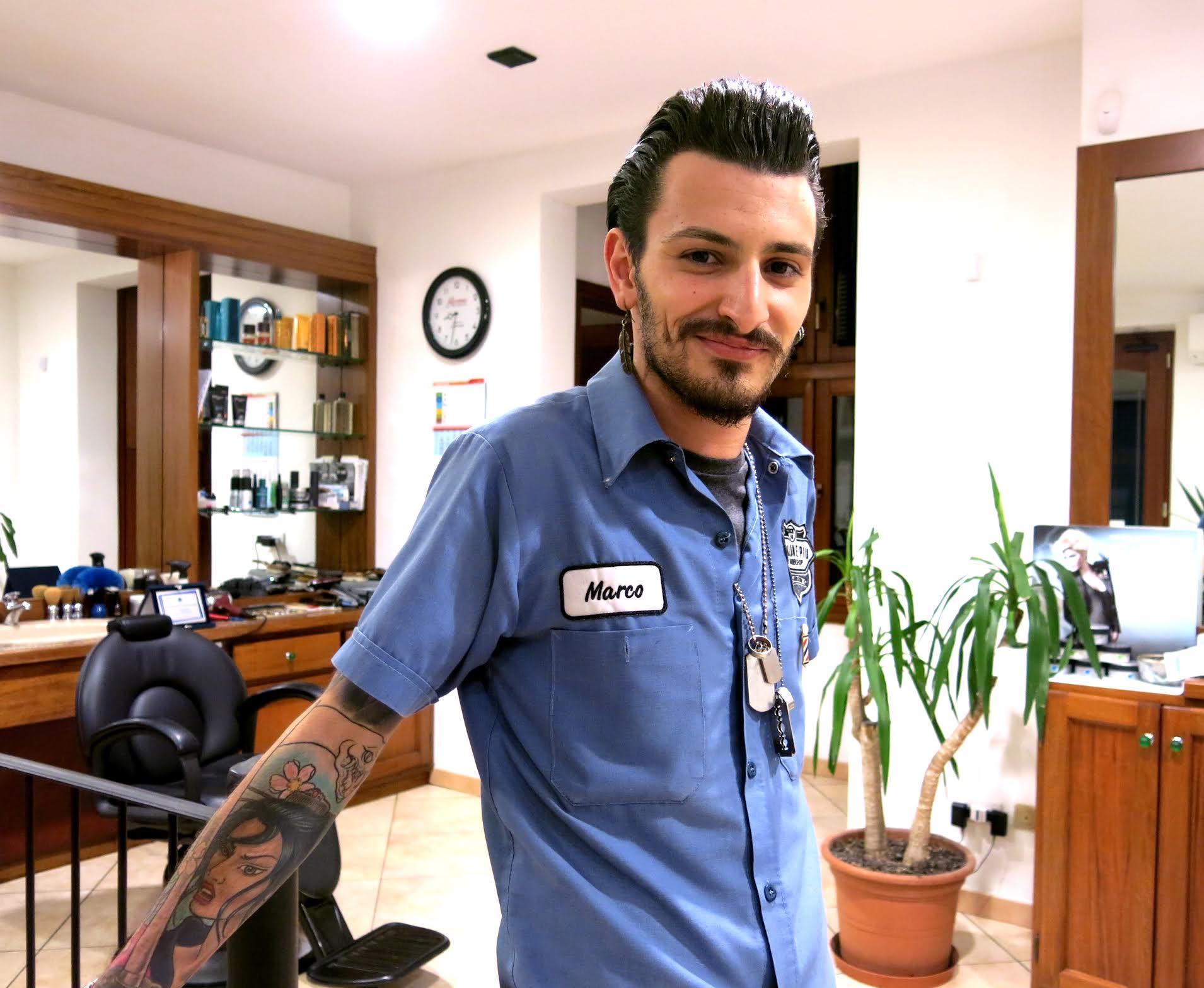 Intervista a Marco Brungiu, il nuovo talento emergente della barberia internazionale