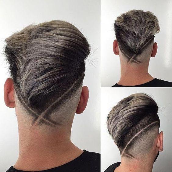 Tagli di capelli uomo sfumature