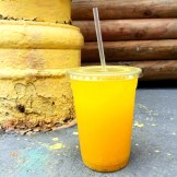 Liquid Gold! Mango soda!