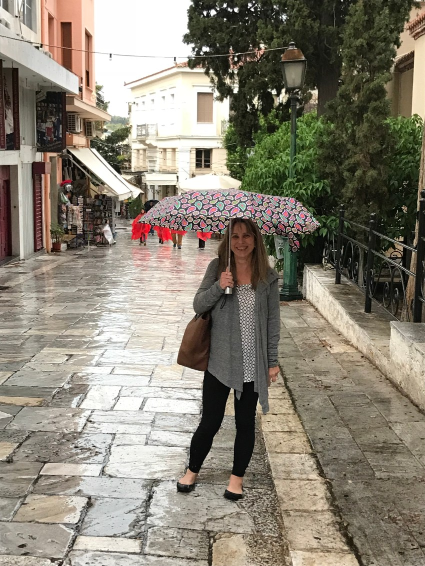 Exploring Athens, Greece On A Rainy Day : Diary Of A Gen-X
