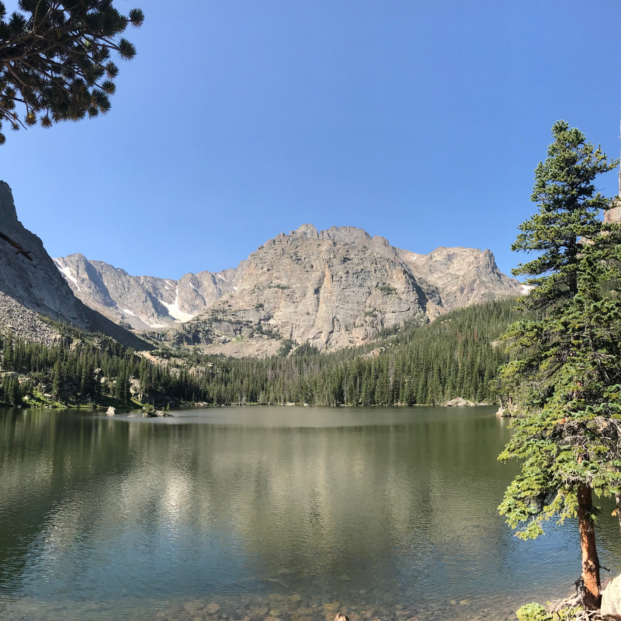 The Loch at Rocky Mountain National Park