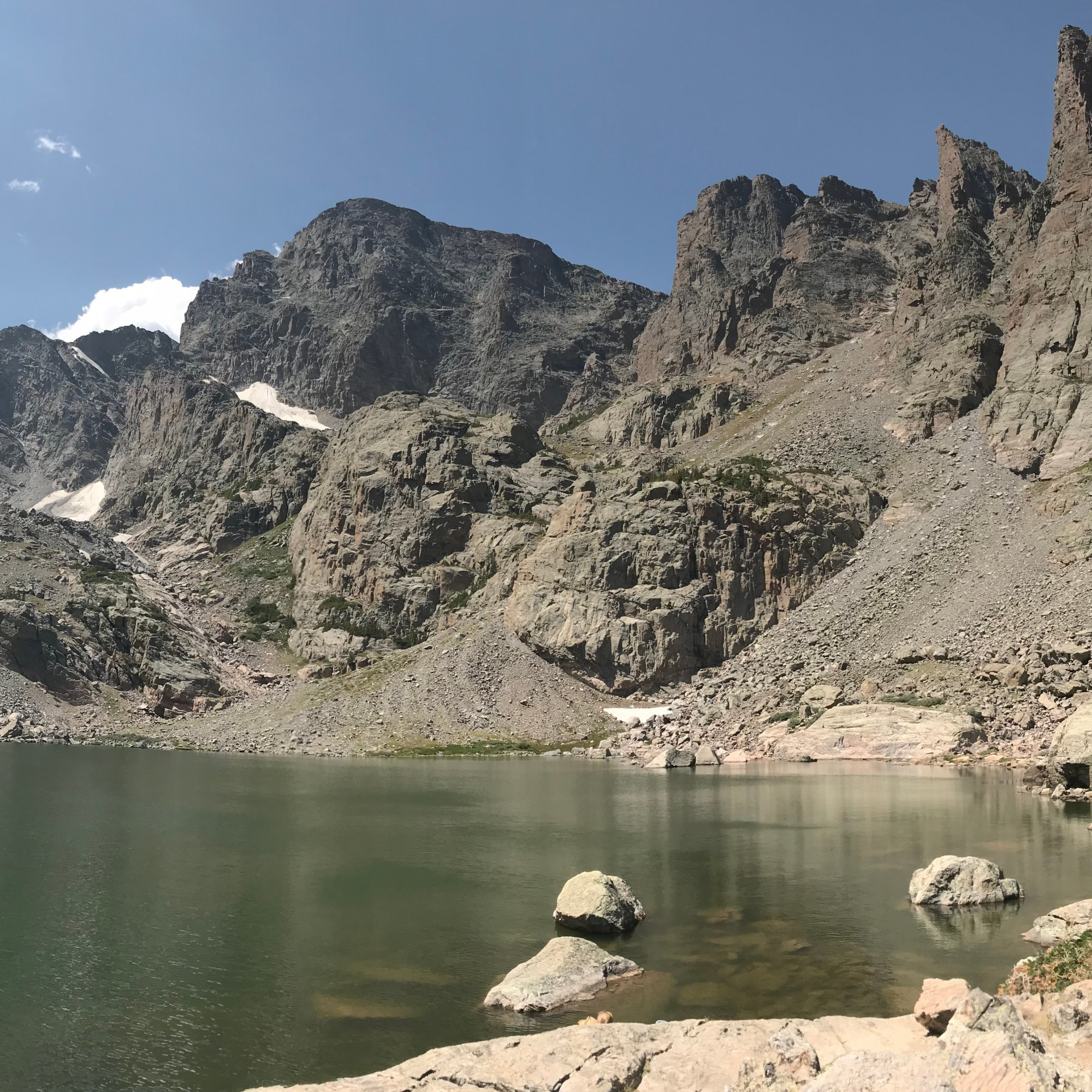 Sky Pond in Rocky Mountain National Park