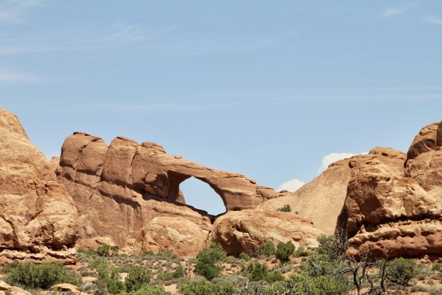 Skyline Arch in Utah, great place for a road trip.
