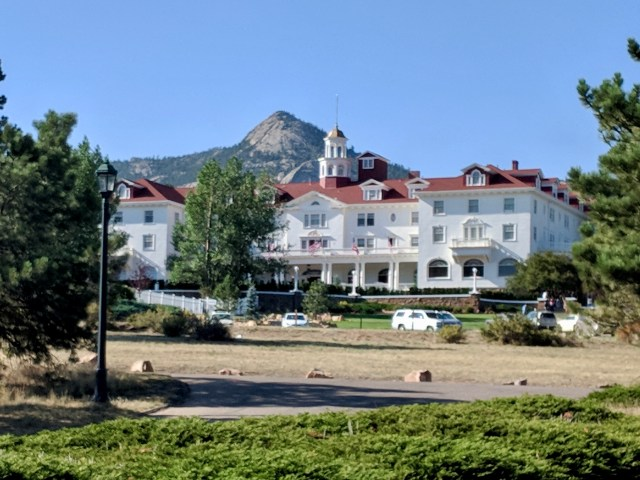 The Stanley Hotel near Rocky Mountain National Park.
