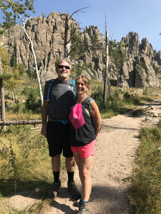 Beginning of Cathedral Spires Black Hills Hiking Trail