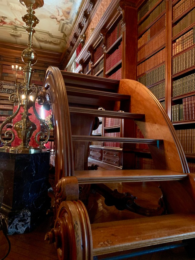 The Biltmore Estate Tour, the library
