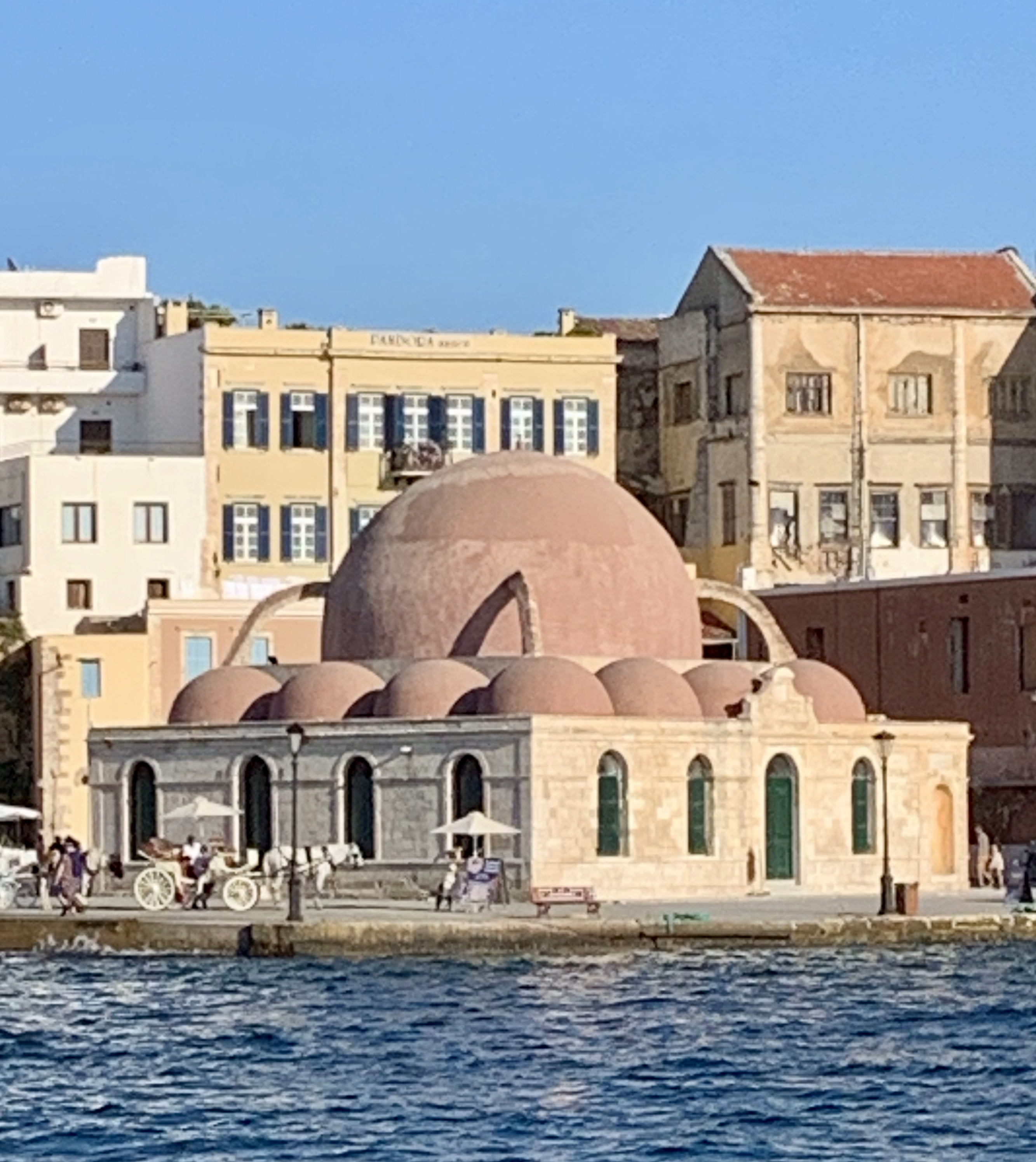 Ottoman Mosque at Chania harbor