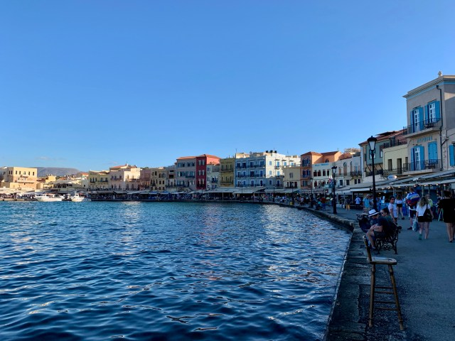 Chania Old Town Harbor