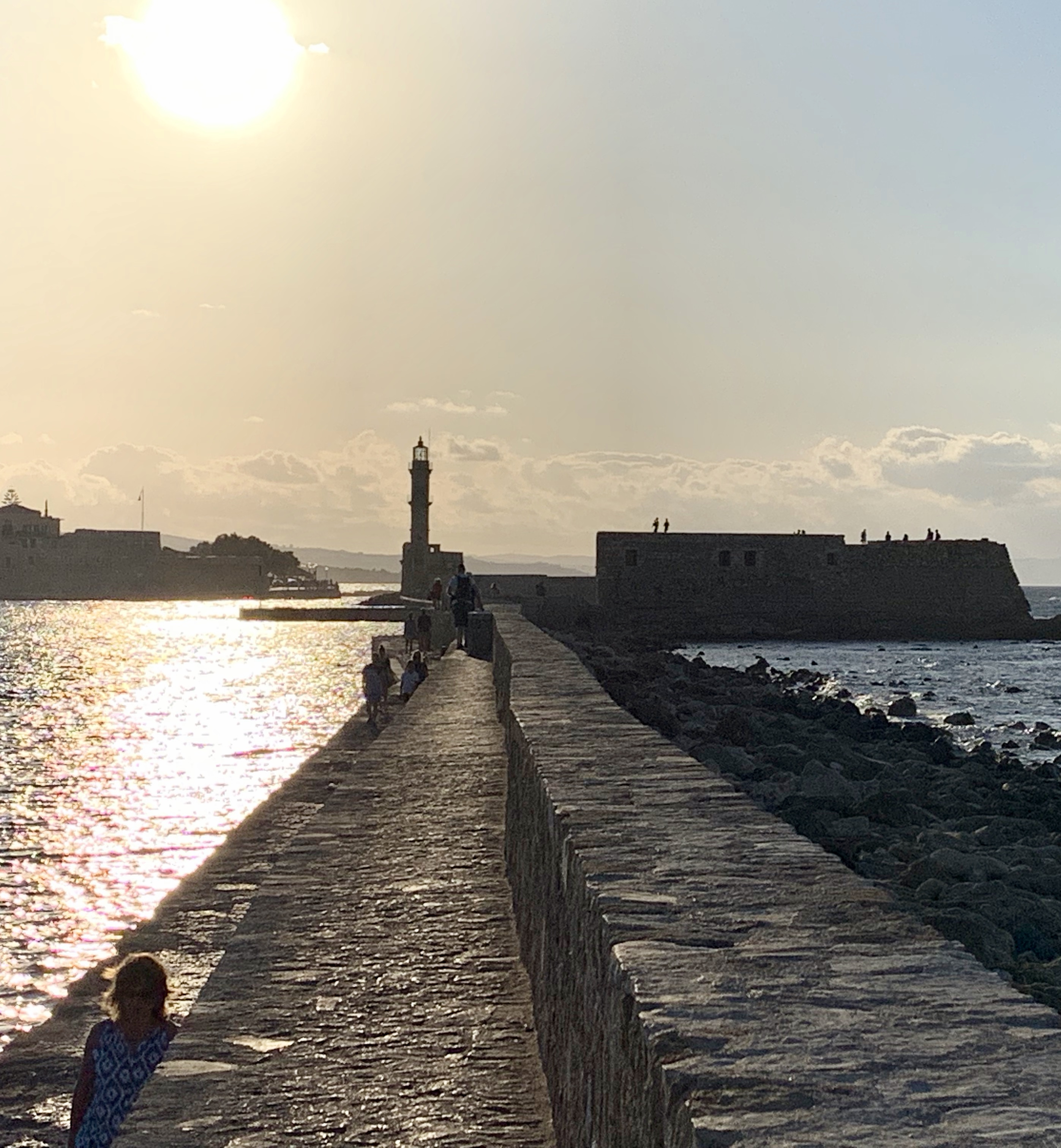 Chania light house