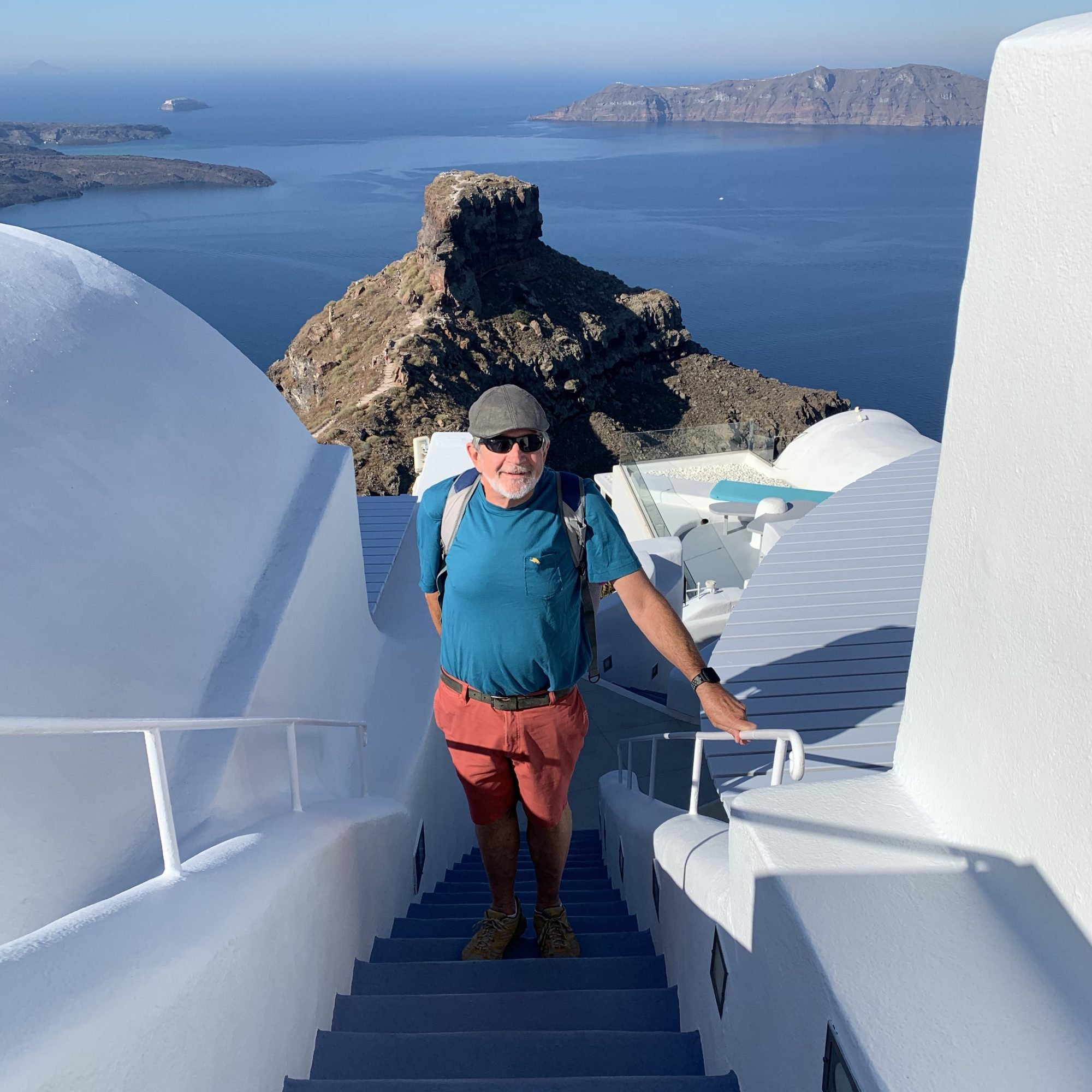 Path to Oia Santorini
