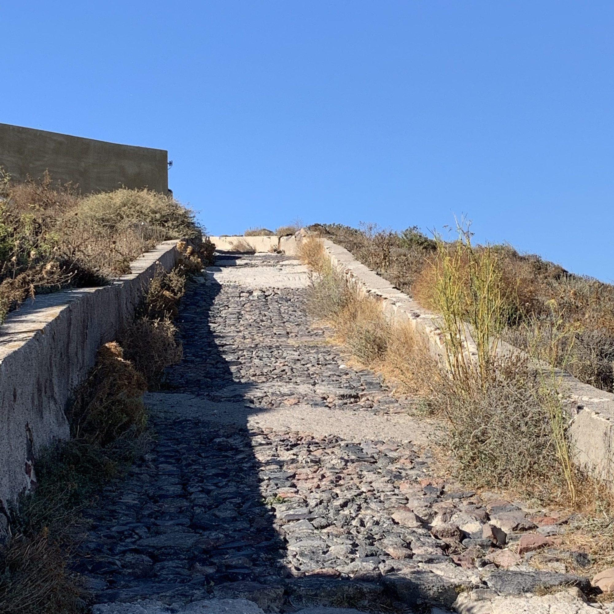 Path to Oia, Santorini
