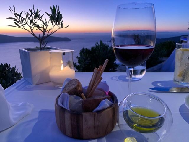 Astra Suites, Santorini Restaurant