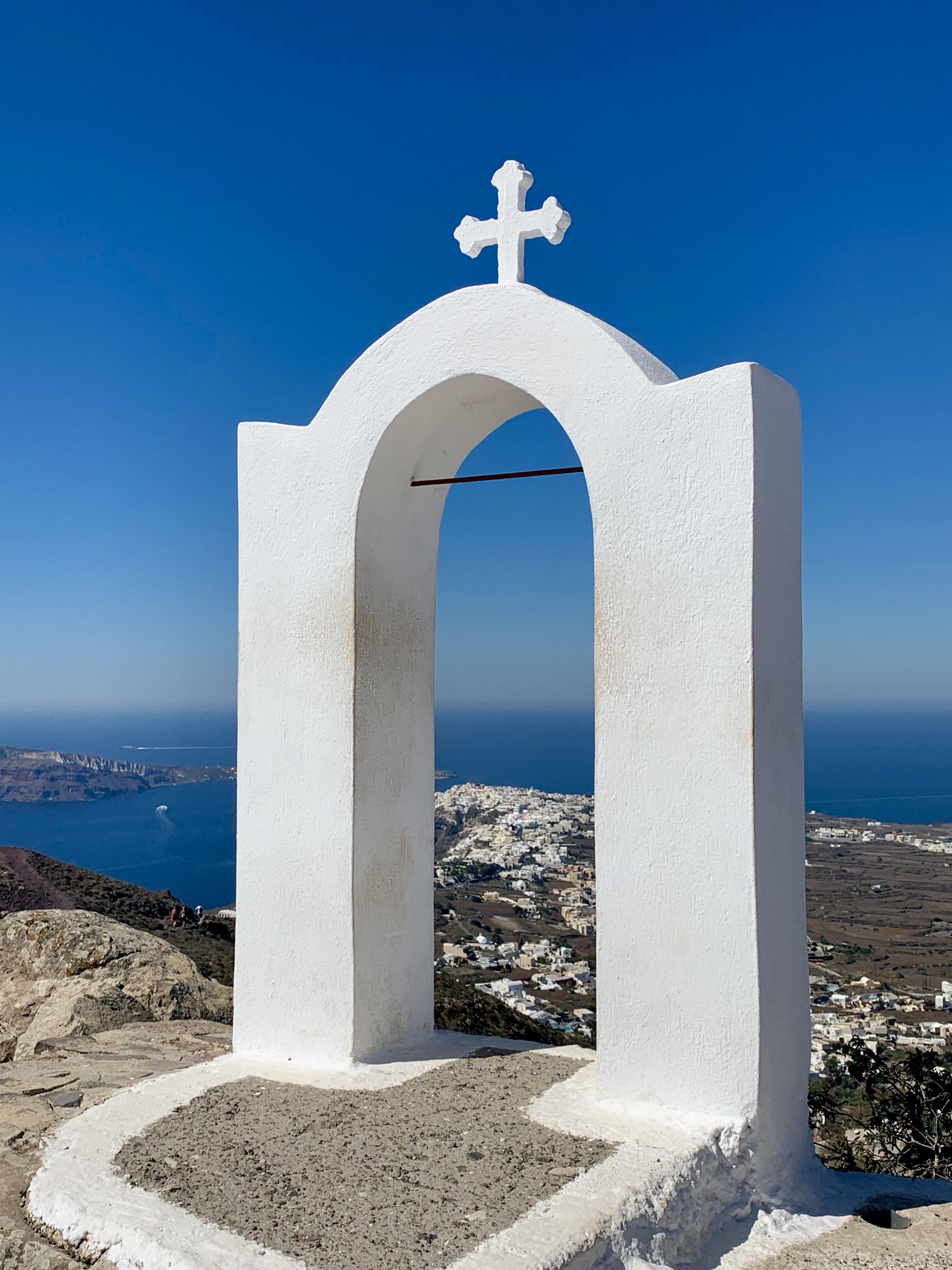 Path to Oia Santorini
