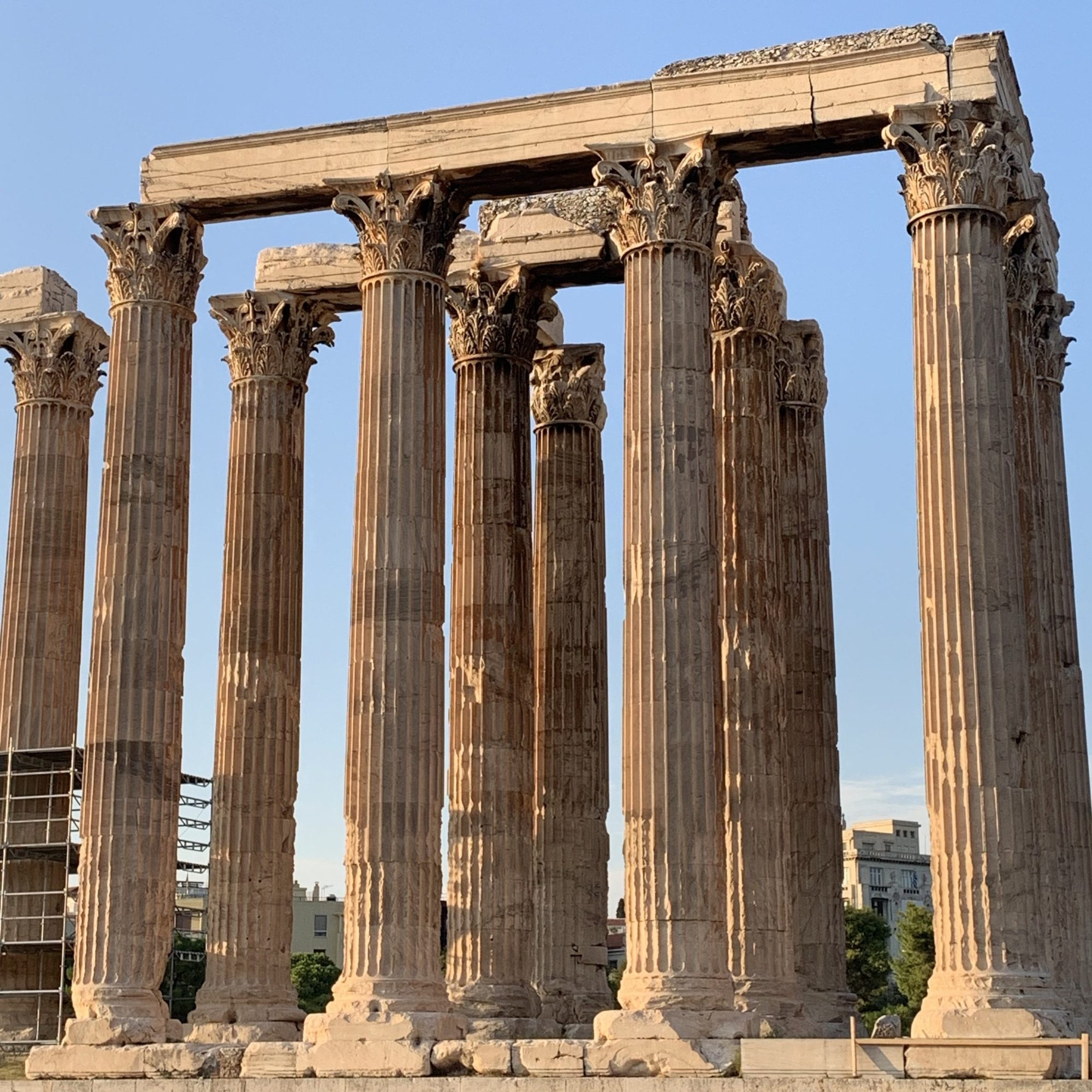 The Olympian Temple of Zeus