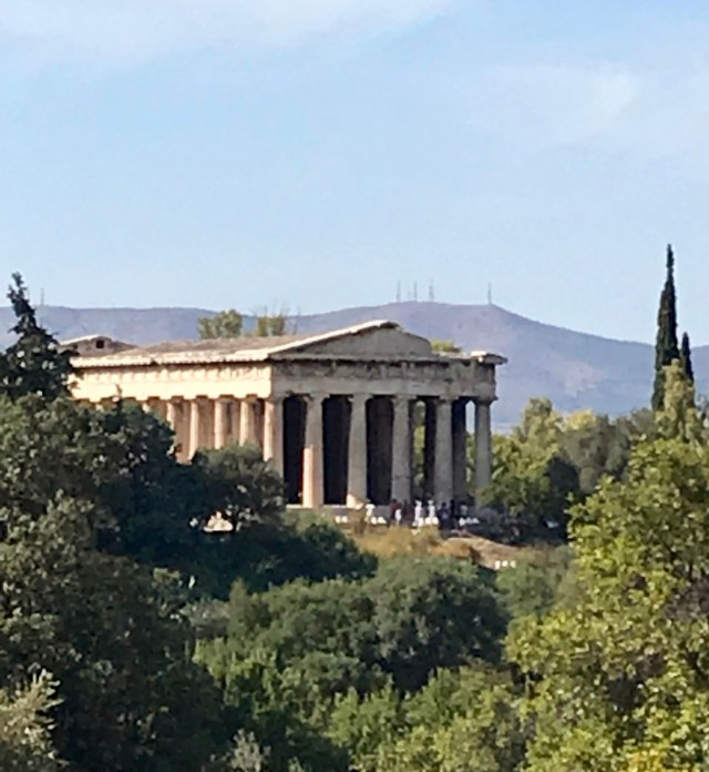 Temple of Hephaestus Athens Greece Itinerary