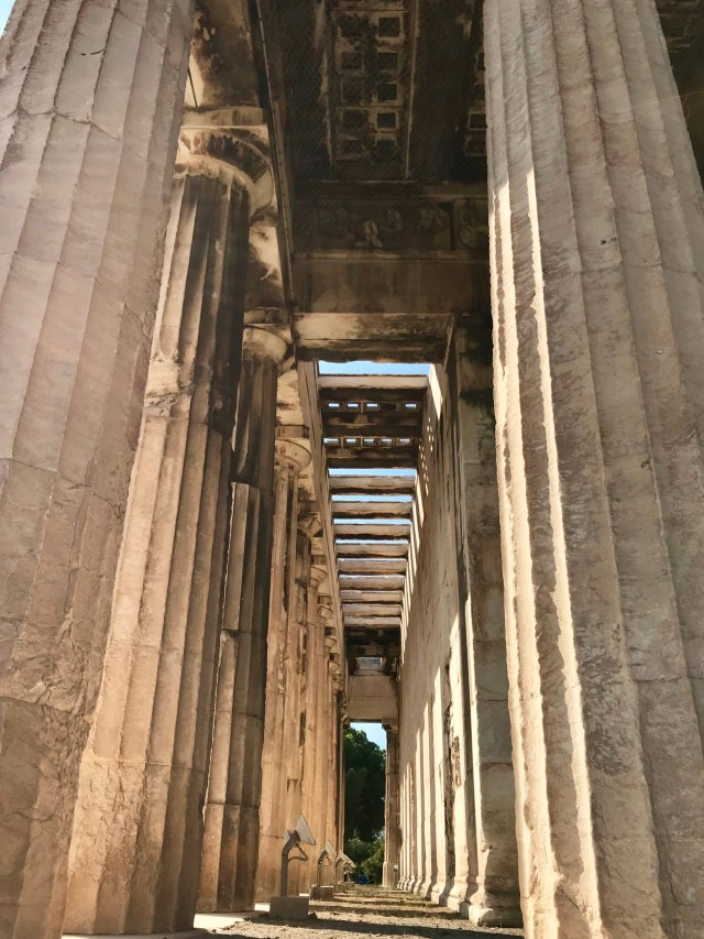 Temple of Hephaestus in Athens Greece