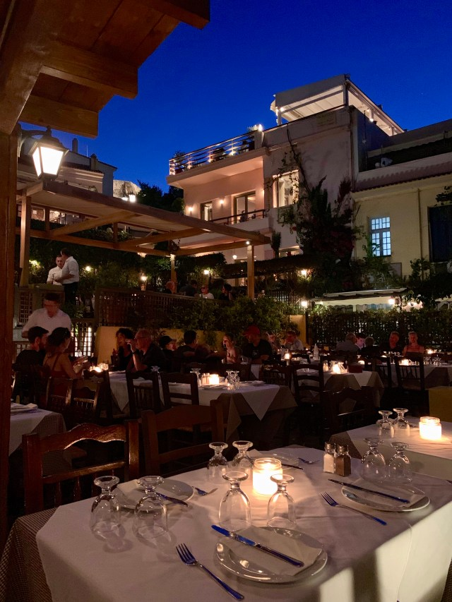 Eat in Plaka Athens Greece