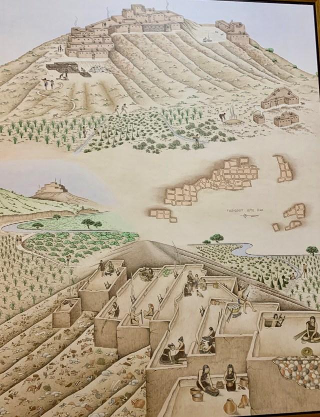 Tuzigoot ruins Arizona