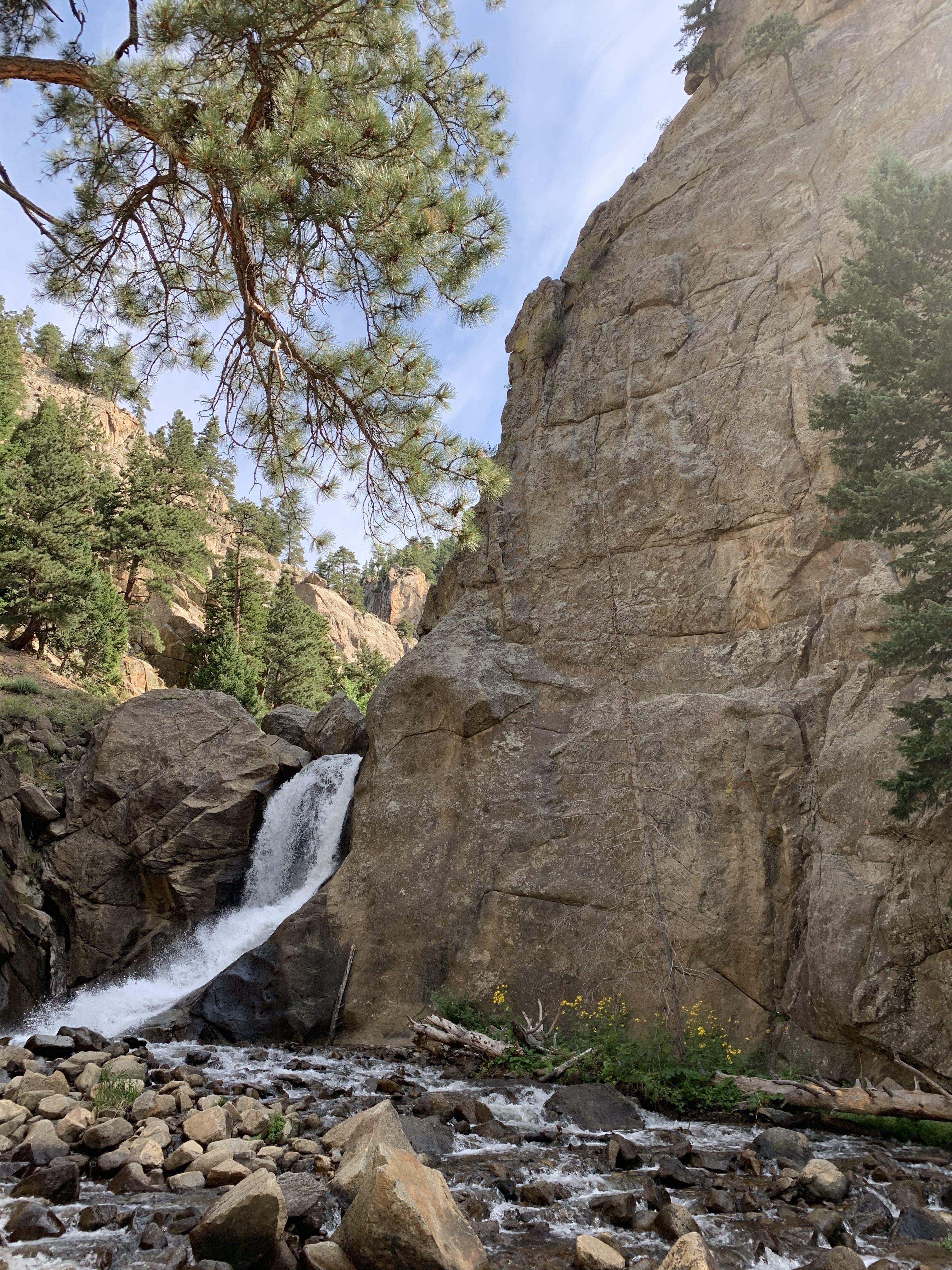 Boulder Falls Colorado