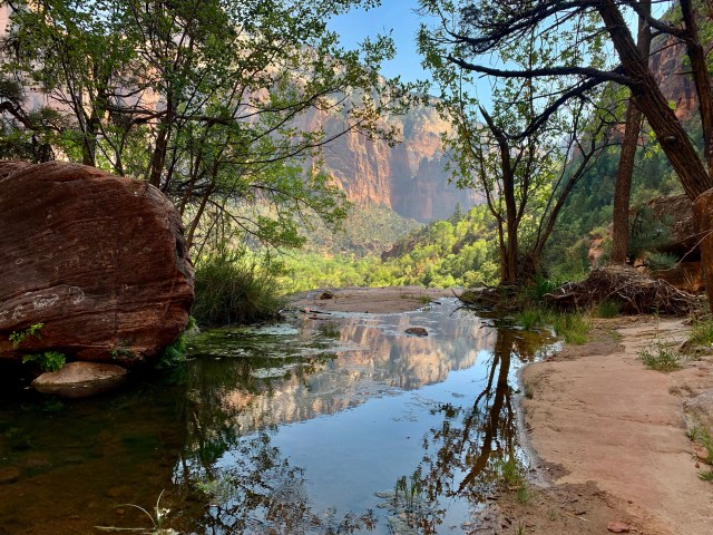 Middle Emerald Pools Zion