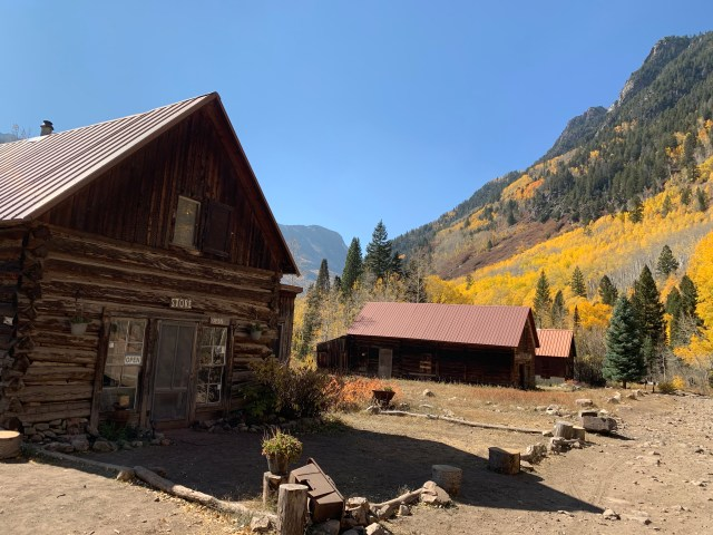Ghost town of Crystal mill Colorado