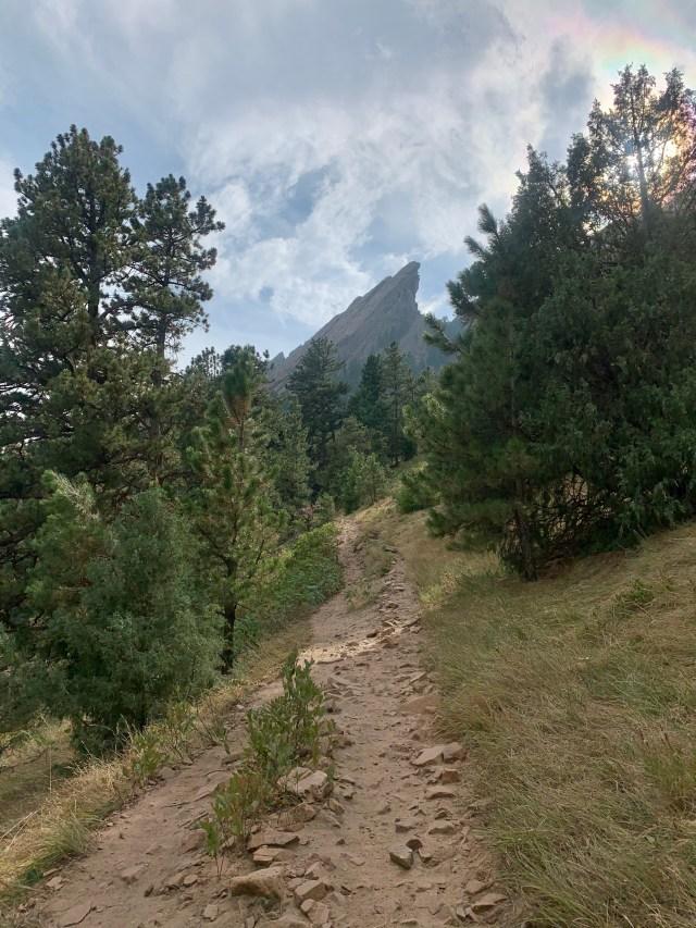 Flatirons Loop Trail Boulder Colorado