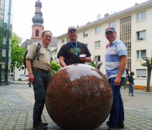 tmsr, GoldCircle and Doug.G in Mainz